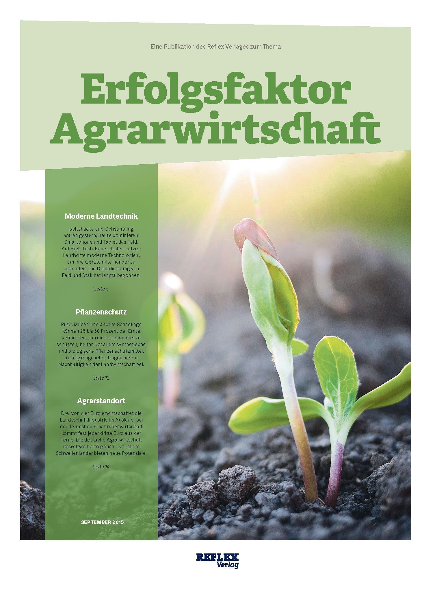 Reflex Verlag | Erfolgsfaktor Agrarwirtschaft