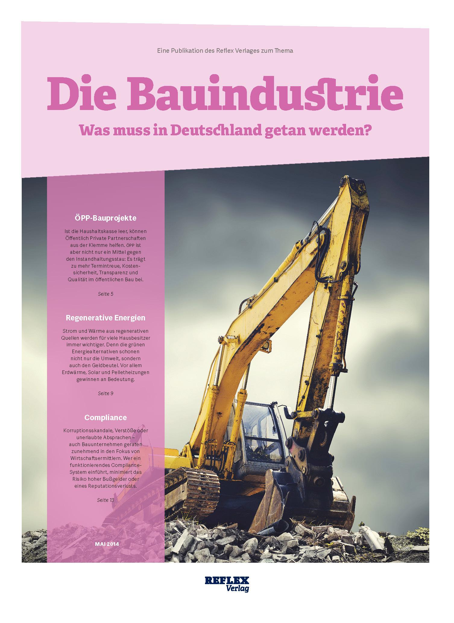 Reflex Verlag | Bauindustrie