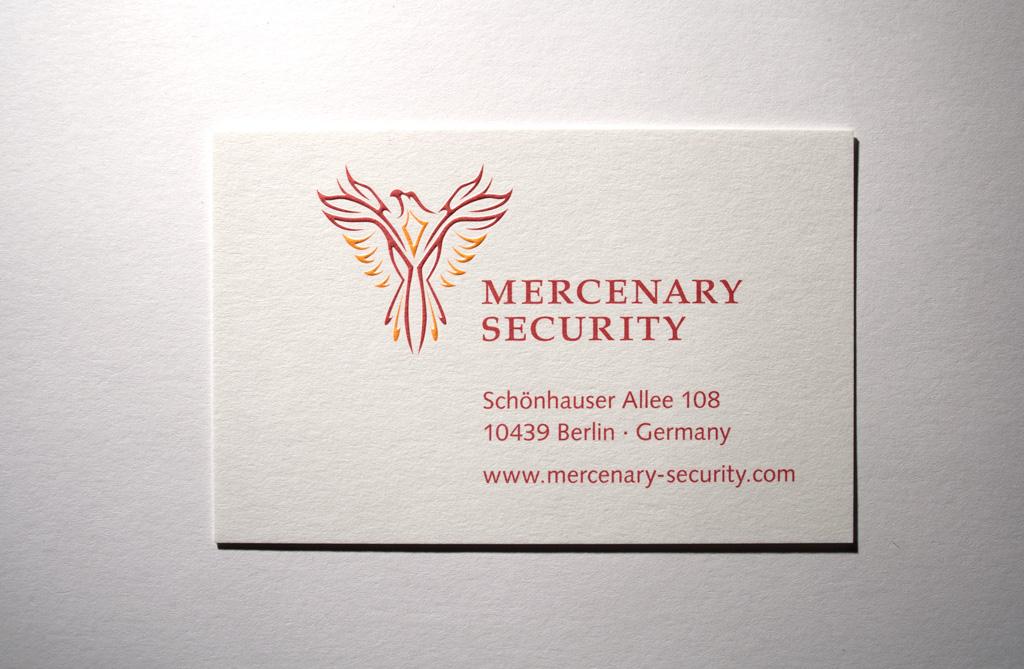 Visitenkarte MS